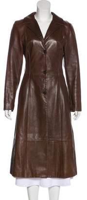 Dolce & Gabbana Vintage Leather Coat