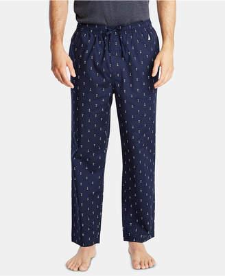 Nautica Men Cotton Anchor-Print Pajama Pants