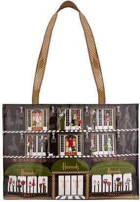Harrods Elevators Shoulder Tote Bag