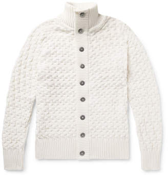 S.N.S. Herning Stark Slim-Fit Merino Wool Cardigan