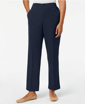 Alfred Dunner Petite Pull-On Pants