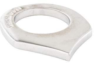 Eddie Borgo Flat Triangle Ring