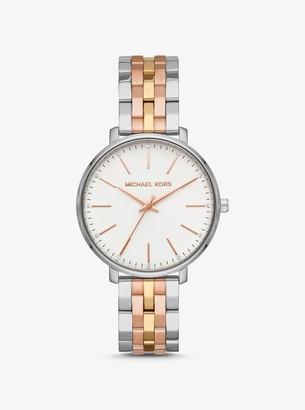 Michael Kors Pyper Tri-Tone Watch