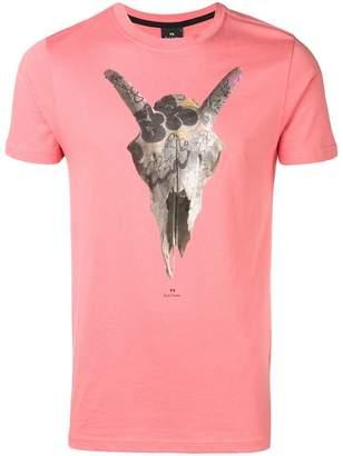 Paul Smith 'Graffiti Skull' print T-shirt