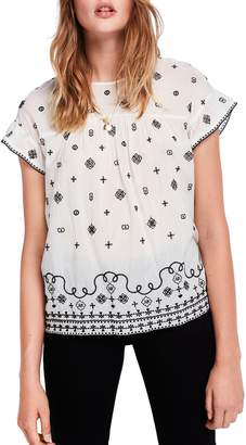 Scotch & Soda Embroidered Top