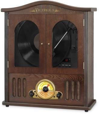Christian Dior Victrola Wood Wall Mount Bluetooth Record Player with Player