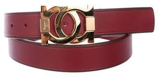 Salvatore Ferragamo Gancini Leather Belt w/ Tags