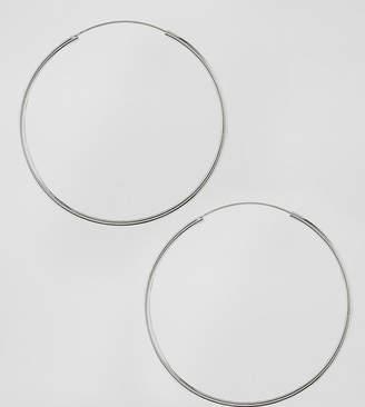 Asos (エイソス) - ASOS Sterling Silver 60mm Hoop Earrings