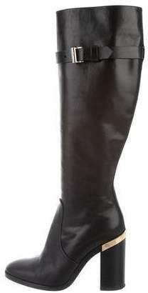 Reed Krakoff Leather Knee-High Boots