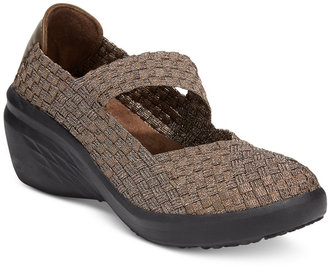 Bare Traps Kassie Mary Jane Wedges $59 thestylecure.com