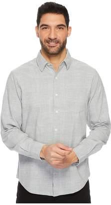 U.S. Polo Assn. Slim Fit Stripe, Plaid or Print Long Sleeve Sport Shirt Men's Clothing