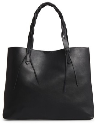 Sole Society Amal Faux Leather Tote - Black $69.95 thestylecure.com