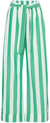 Mara Hoffman striped sasha cotton trousers