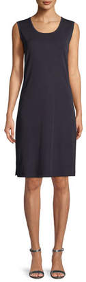 Misook Pullover Sleeveless Tank Dress, Petite
