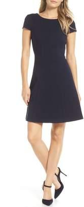 Harper Rose Cap Sleeve Fit & Flare Dress