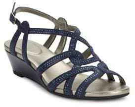 Bandolino Galtelli Beaded Wedge Sandal