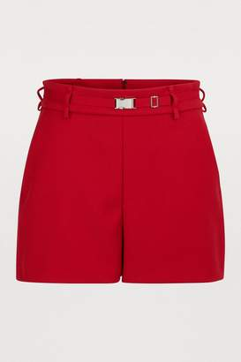RED Valentino Shorts in technical fabric