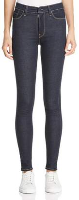 Hudson Barbara High Rise Skinny Jeans in Sunset Blvd