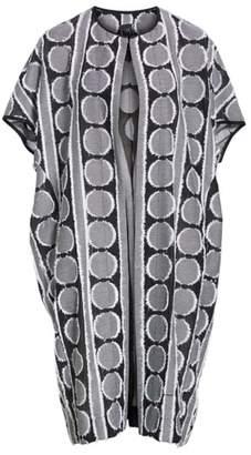 Zero Maria Cornejo Koy Pleated Circle Fil Coupe Coat