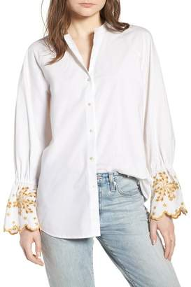 Scotch & Soda Oversize Button Front Shirt