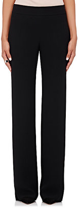Giorgio Armani Women's Silk Flared Pants-BLACK $1,695 thestylecure.com
