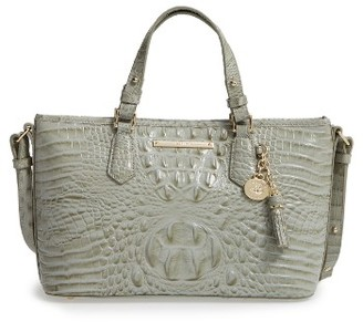 Brahmin Melbourne Mini Asher Leather Tote - Green $235 thestylecure.com