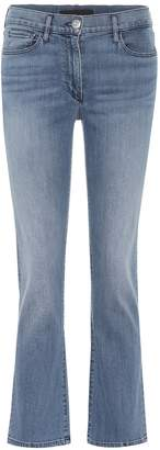 3x1 W2 cropped mid-rise bootcut jeans