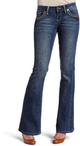 YMI Jeanswear Juniors Flare Core Five Pocket Jean