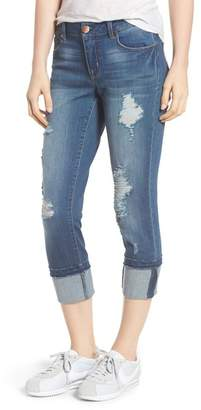 1822 Denim Decon Cuffed Skinny Jeans (Dedra)