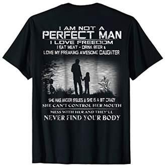 Mens I AM NOT A PERFECT MAN