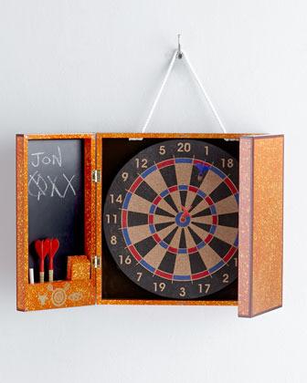 Jonathan Adler Lacquer Toulouse Dart Board