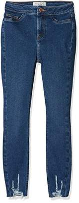 New Look 915 Girl's Ultra High Rise Skinny Jeans,(Manufacturer Size:146)