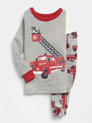 Gap Firetruck PJ Set