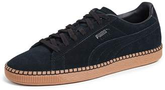 Puma Select Suede Classic Blanket Stitch Sneakers