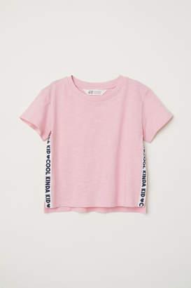 H&M Boxy T-shirt - Pink