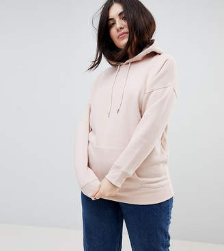 Asos New Look Plus New Look Curve Oversized Hoody