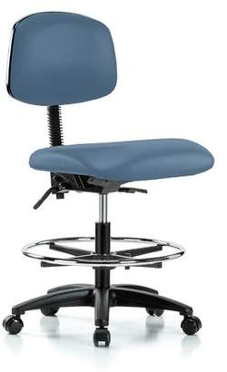 Perch Chairs & Stools Low-Back Drafting Chair Upholstery