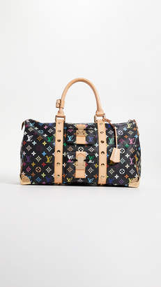 Louis Vuitton What Goes Around Comes Around Black Multi Keepall 45 Bag