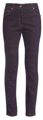Escada Stretch Straight-Leg Jeans