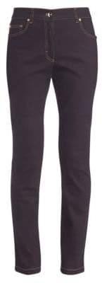 Escada Stretch Straight-Leg Jeans