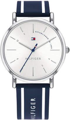 Tommy Hilfiger Women Navy Silicone Strap Watch 35mm