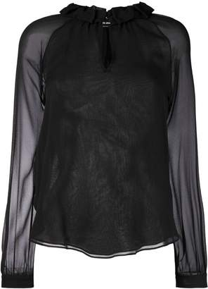 Giorgio Armani long-sleeved blouse
