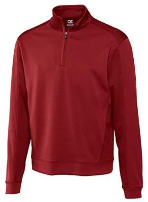 Cutter & Buck Cutter and Buck Men's Big and Tall Drytec Edge Half Zip Sweatshirt