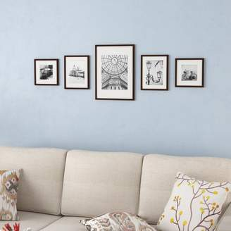 Co Darby Home Janita 5 Piece Wall Picture Frame Set