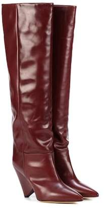 Isabel Marant Lokyo leather knee-high boots