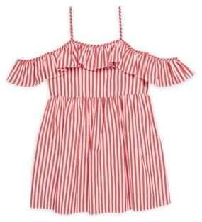 Milly Minis Toddler's, Little Girl's& Girl's Striped Cotton Bella Dress