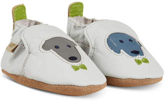 Robeez Baby Boys Dog Buddies Shoes