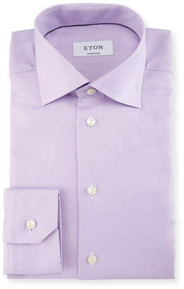 Eton Contemporary-Fit Calvary Twill Dress Shirt