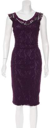 Dolce & Gabbana Gathered Zip-Up Dress