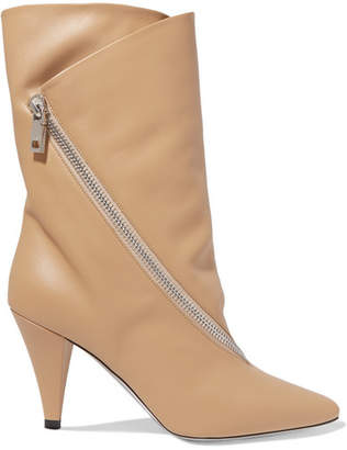 Givenchy Leather Boots - Beige